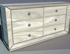 nº 9 pour 3D model this mirrored dresser par Alteridem