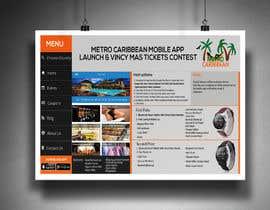 nº 3 pour Metro Caribbean Mobile App Launch Contest par victorartist