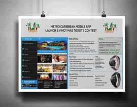 nº 11 pour Metro Caribbean Mobile App Launch Contest par victorartist
