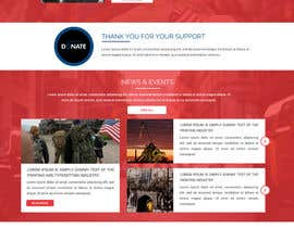 #8 for PSD or AI file of the homepage design. Theme: Military converting into Commercial Working World by ravinderss2014