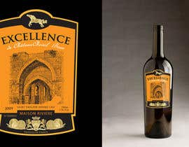 #35 for Print & Packaging Design for Excellence Bordeaux Wine af focused