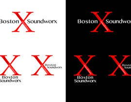 #43 pentru Amazing Logo Design Needed for Boston Soundworx de către alvincheung