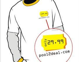 nº 14 pour T-shirt Design for pool2deal.com par dyv