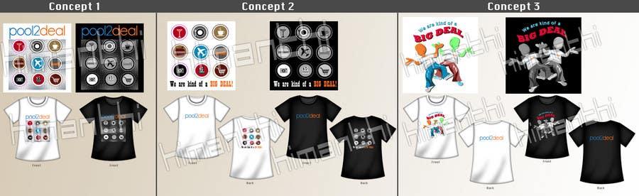 Inscrição nº                                         10                                      do Concurso para                                         T-shirt Design for pool2deal.com