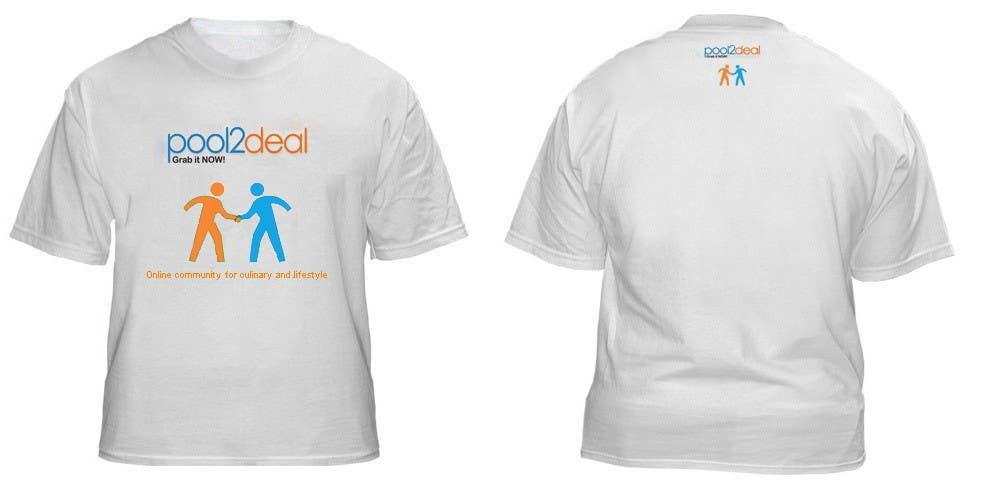 Contest Entry #17 for T-shirt Design for pool2deal.com