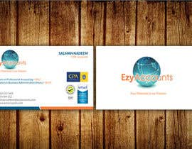 Nro 37 kilpailuun Design some Business Cards for an Accountant käyttäjältä aminur33