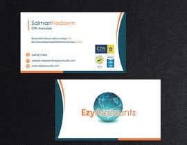 Nro 64 kilpailuun Design some Business Cards for an Accountant käyttäjältä pkrishna7676