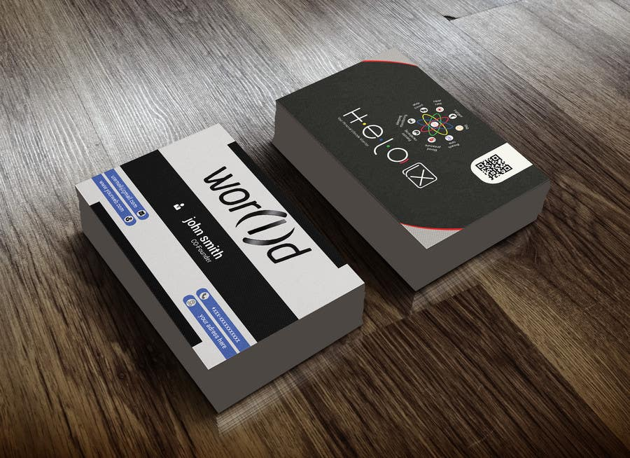 Entry #137 by shahed367 for Design creative business card (more than ...