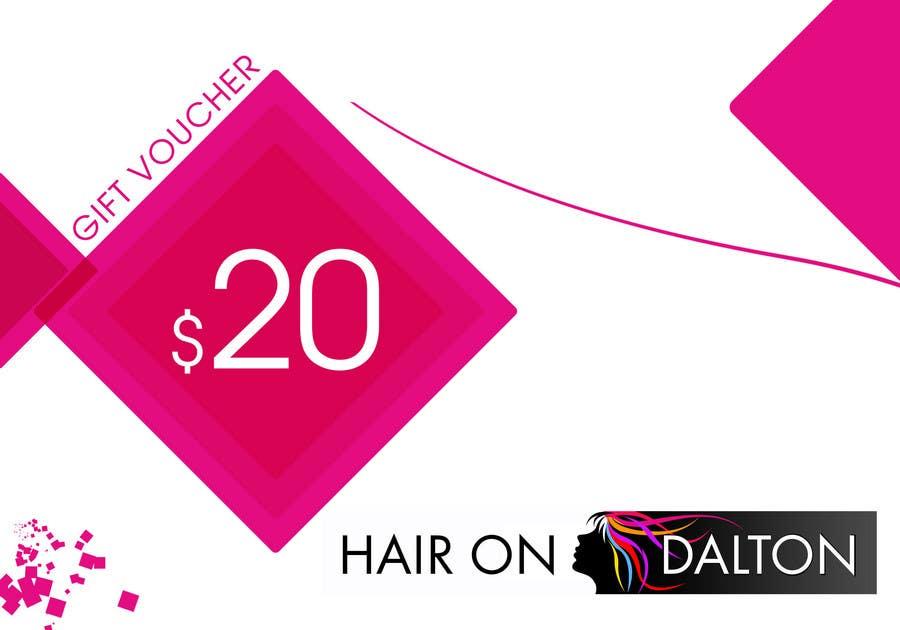 Конкурсная заявка №37 для Stationery Design for HAIR ON DALTON