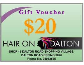 #145 para Stationery Design for HAIR ON DALTON de psbindia