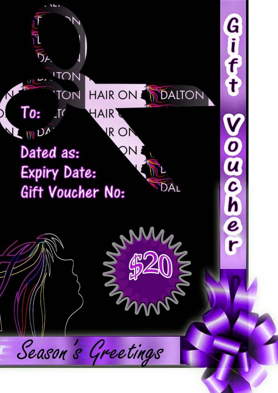 Конкурсная заявка №127 для Stationery Design for HAIR ON DALTON
