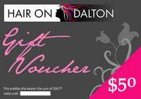 Graphic Design Конкурсная работа №42 для Stationery Design for HAIR ON DALTON