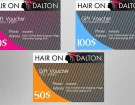 #155 untuk Stationery Design for HAIR ON DALTON oleh MaruInk
