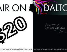 #150 for Stationery Design for HAIR ON DALTON av DejanT