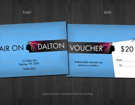 #161 for Stationery Design for HAIR ON DALTON av tzflorida