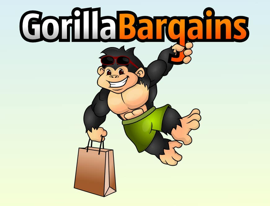 Contest Entry #30 for Logo Design for Gorilla Bargains