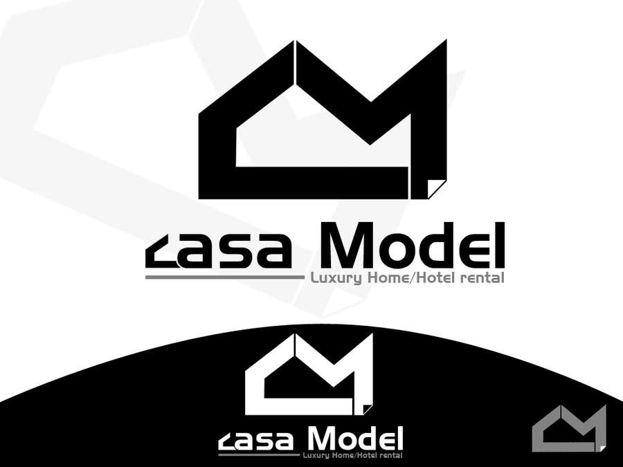 Konkurrenceindlæg #220 for Logo Design for Casa Model Luxury Home rental/Hotel