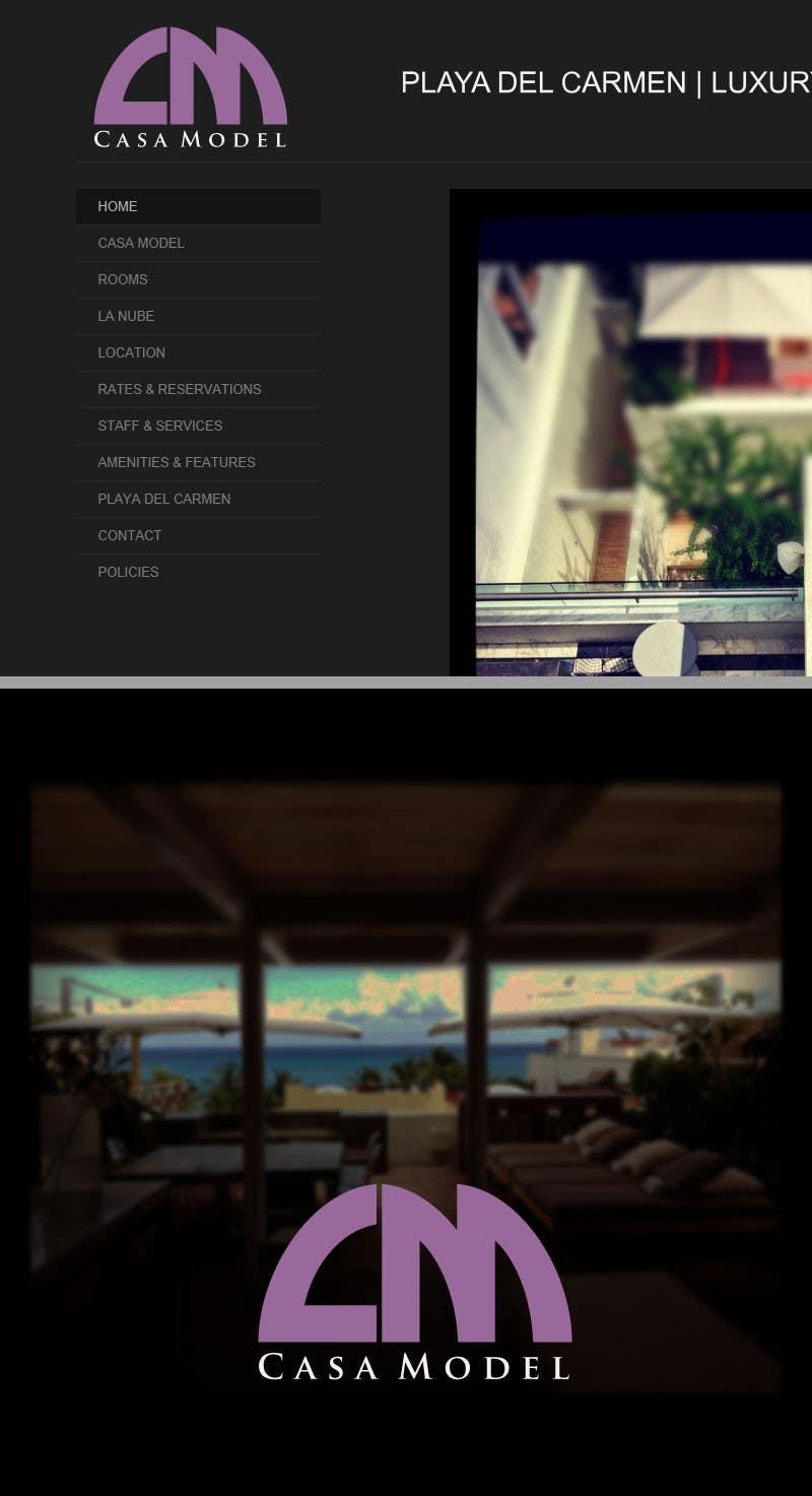 Konkurrenceindlæg #72 for Logo Design for Casa Model Luxury Home rental/Hotel