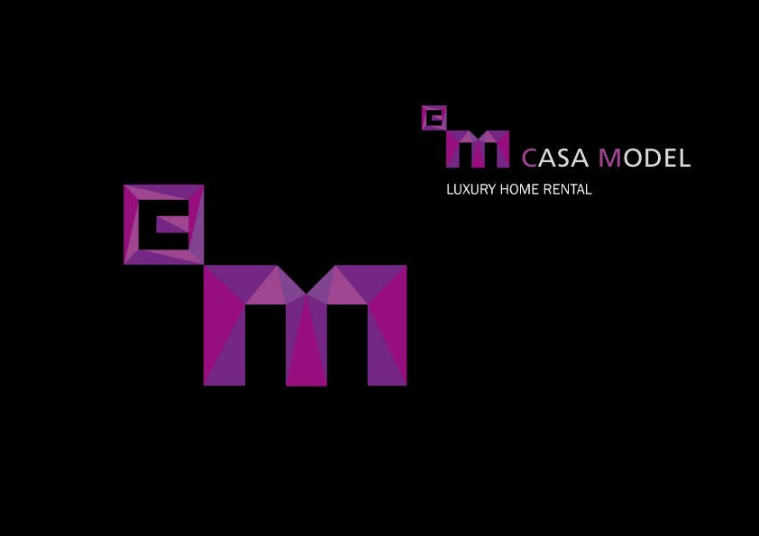 Konkurrenceindlæg #153 for Logo Design for Casa Model Luxury Home rental/Hotel