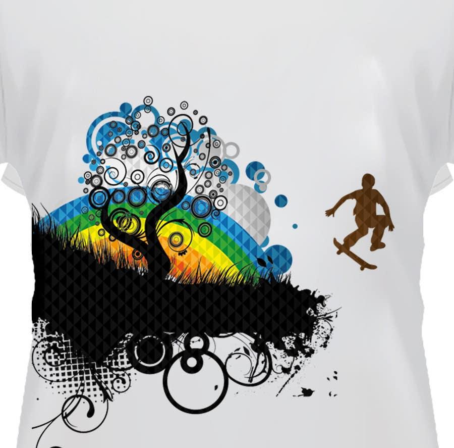 Konkurrenceindlæg #                                        41                                      for                                         T-shirt Design for customer