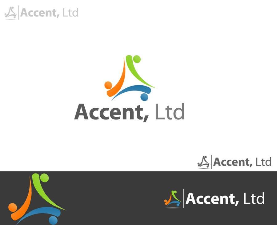 Kilpailutyö #118 kilpailussa Logo Design for Accent, Ltd