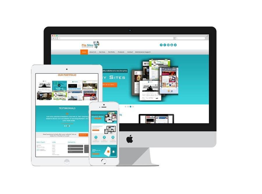 Inscrição nº                                         12                                      do Concurso para                                         Design Website for Web design company in PSD