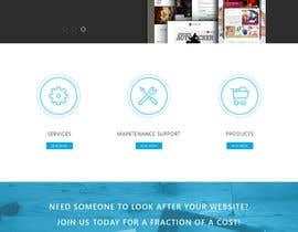 #2 para Design Website for Web design company in PSD por backbon3