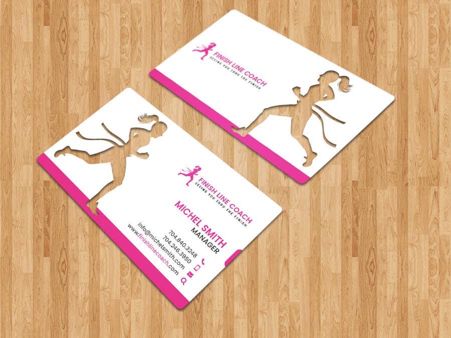 #121 for Design an innovative die cut business card! by triptigain