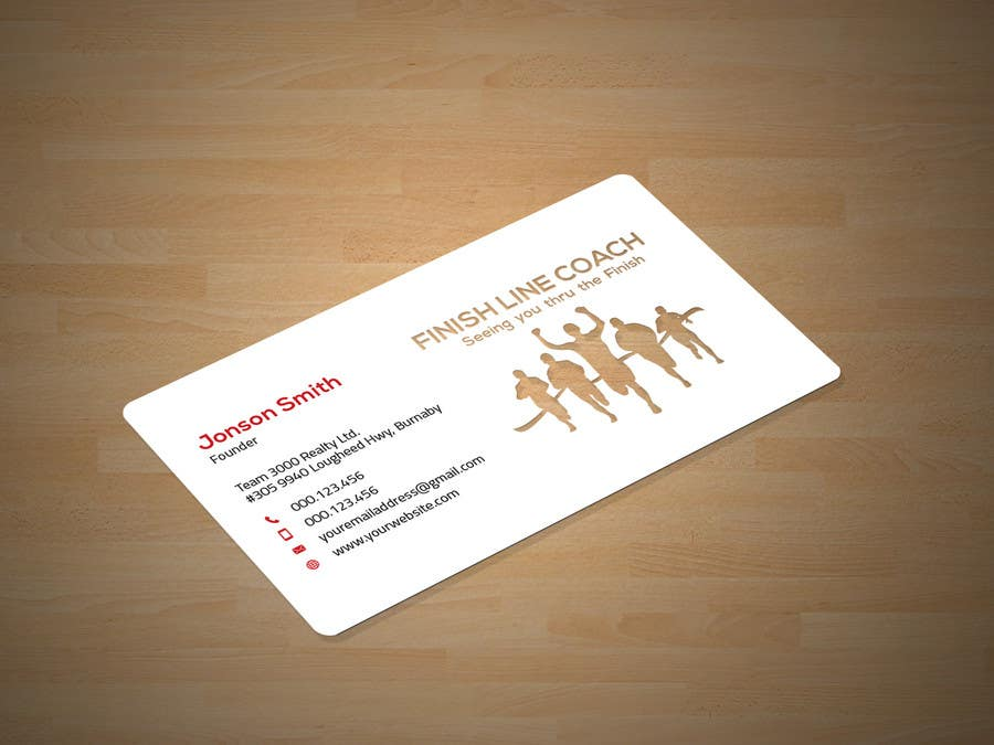 #196 for Design an innovative die cut business card! by Neamotullah
