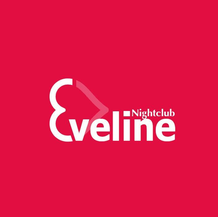 Kilpailutyö #                                        17                                      kilpailussa                                         Nightclub Eveline Logo Modification