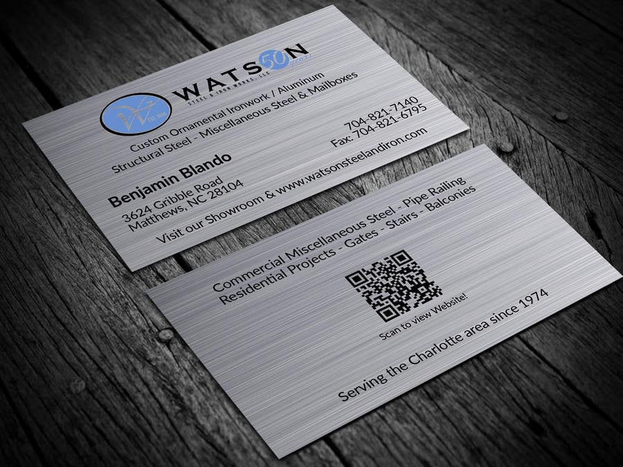 Entry 7 by rahmatullahcse for watston steel design some business contest entry 7 for watston steel design some business cards letter head reheart Choice Image