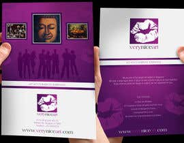 #51 untuk Flyer Design for Very Nice Art Pte Ltd (veryniceart.com) oleh jtmarechal