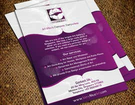 #16 para Flyer Design for Very Nice Art Pte Ltd (veryniceart.com) por Jabinhossain