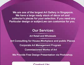#66 untuk Flyer Design for Very Nice Art Pte Ltd (veryniceart.com) oleh somnathpatra90
