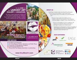 #58 para Flyer Design for Very Nice Art Pte Ltd (veryniceart.com) por ezesol