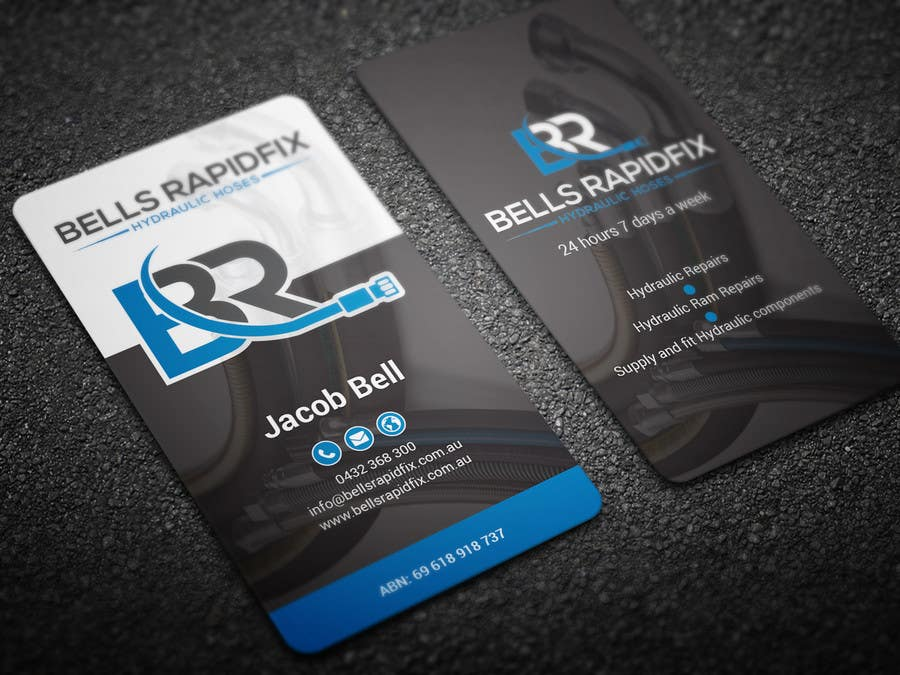 Entry 113 by bikashbapon for design front and back business cards business card colourmoves