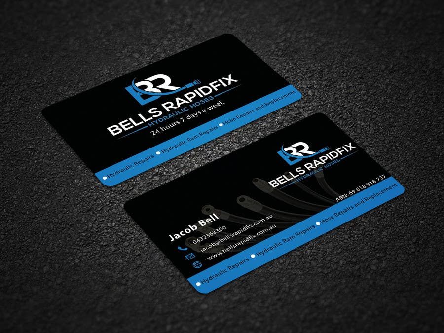 Entry 110 By Bmbillal For Design Front And Back Business Cards And