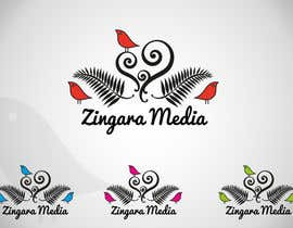 nº 195 pour Logo Design for Zingara Media par architechno23
