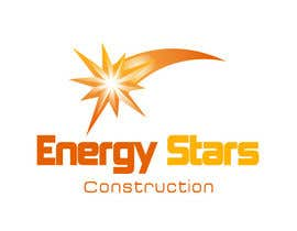 #234 para Logo Design for Energy Stars Construction por logoarts