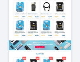 #47 for Website Homepage Mock-Up by pilipenko2001