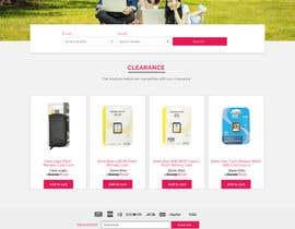 #39 for Website Homepage Mock-Up by avinaykumarweb