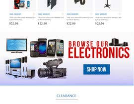 #25 for Website Homepage Mock-Up by sharpensolutions