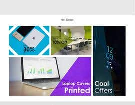 #9 for Website Homepage Mock-Up by kolorwebindia