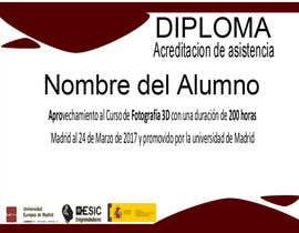 #3 para Diseño Diploma en Google Slide de PIPA5