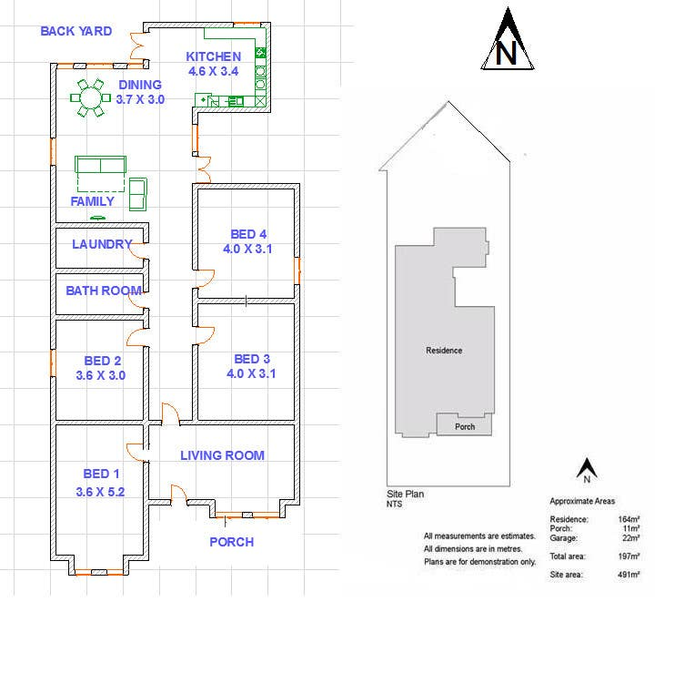 Entry 12 by starc12 for redesign floor plans for existing for Floor plans for existing homes