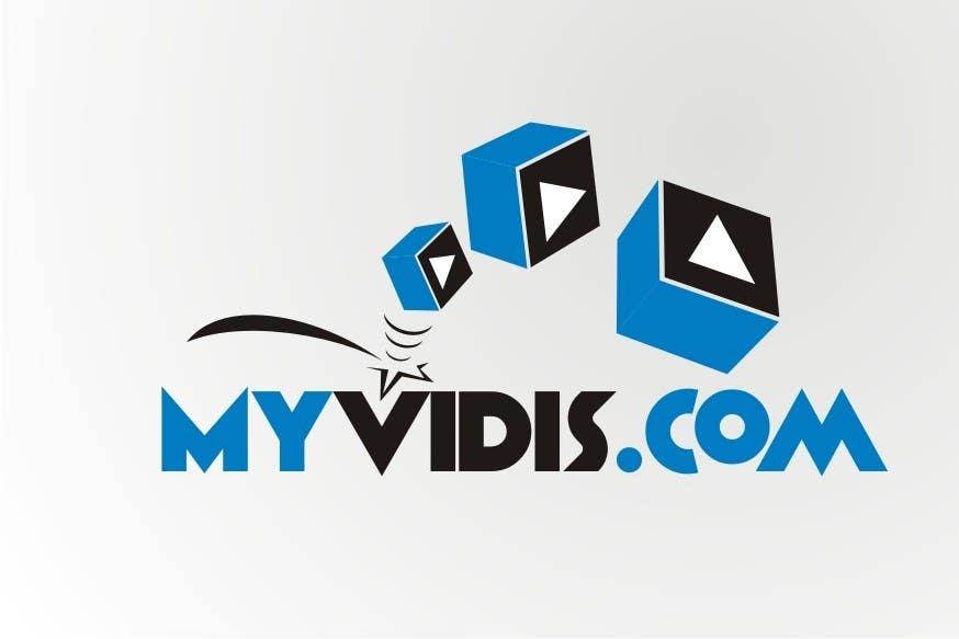Contest Entry #529 for Logo Design for MyVidis.com