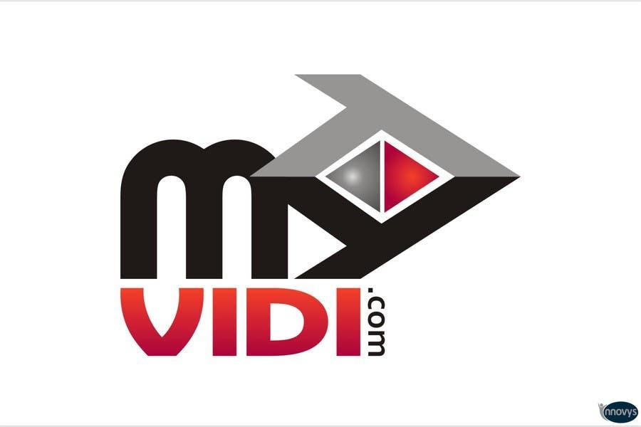 """Intrarea #651 pentru concursul """"Logo Design for MyVidis.com"""""""