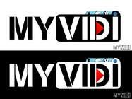 "Graphic Design Intrarea #164 pentru concursul ""Logo Design for MyVidis.com"""