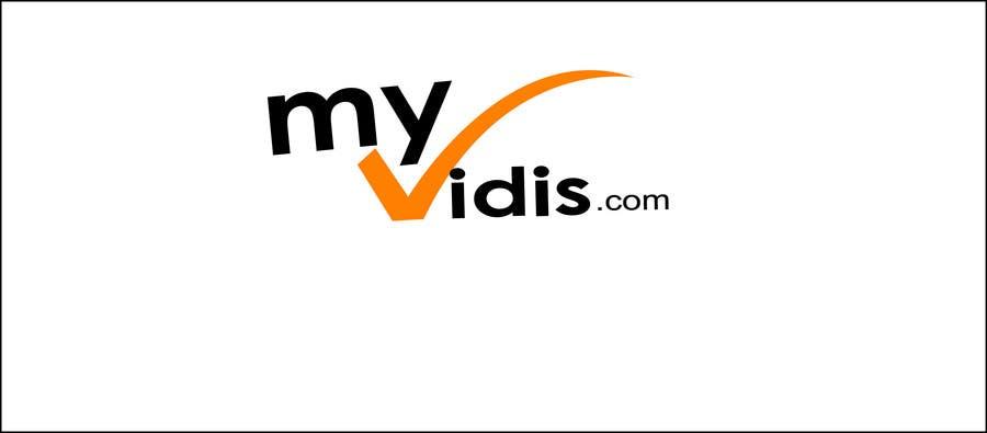 Contest Entry #567 for Logo Design for MyVidis.com