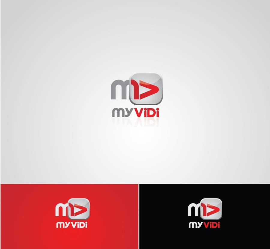 """Intrarea #218 pentru concursul """"Logo Design for MyVidis.com"""""""